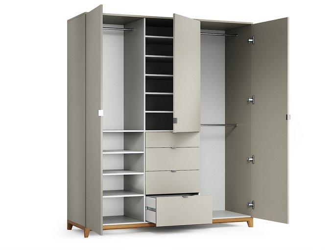 Шкаф Case №2 бежевого цвета