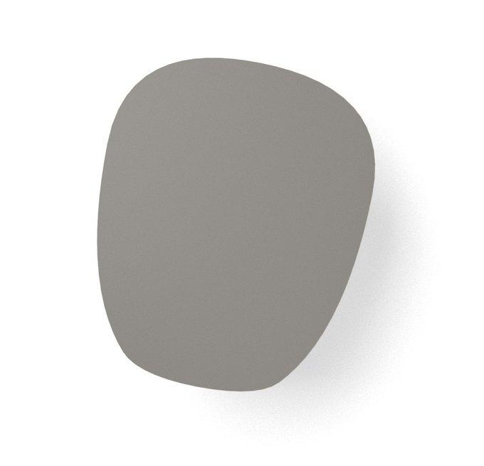 Журнальный стол River Round серого цвета