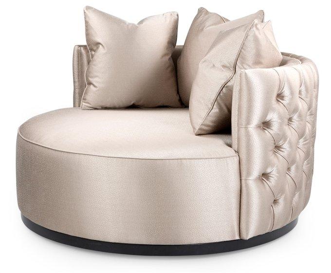 Кресло Monroe бежевого цвета