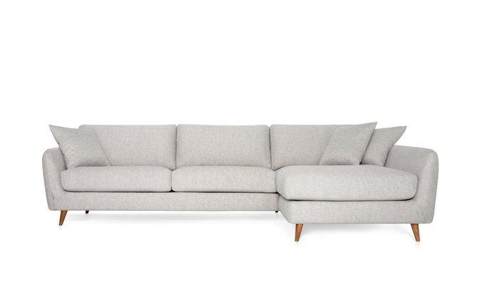 Угловой диван Faro светло-серого цвета