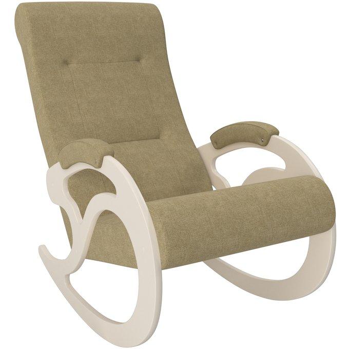 Кресло-качалка Модель 5 серого цвета