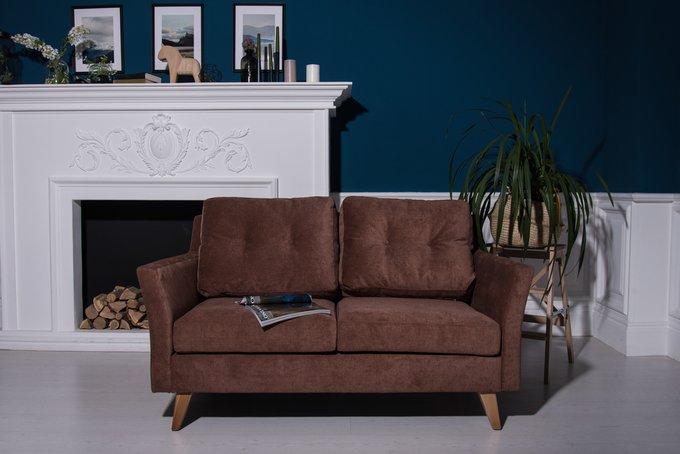 Прямой диван-кровать Rafael M коричневого цвета