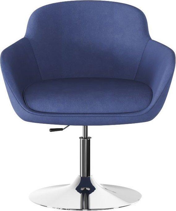 Кресло Данае twilinght-blue синего цвета