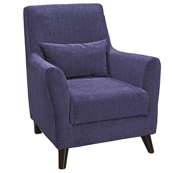 Кресло Либерти фиолетового цвета