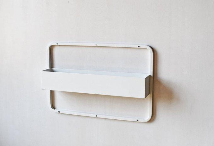 Полка Metall Shelf белого цвета