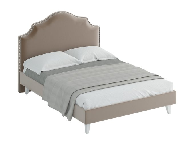 Кровать Queen Victoria светло-коричневого цвета 160х200