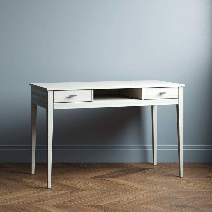 Письменный стол Ustas-1 140х60 с двумя ящиками черного цвета