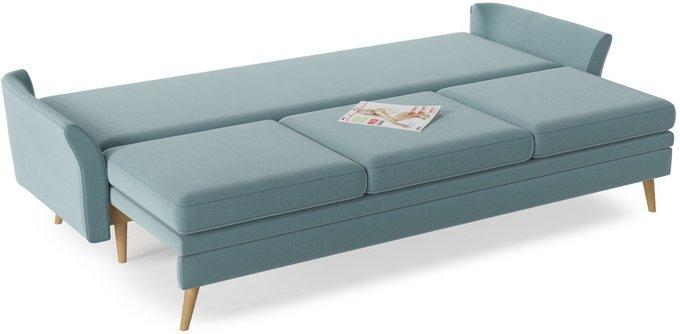 Диван-кровать Верона серо-голубого цвета