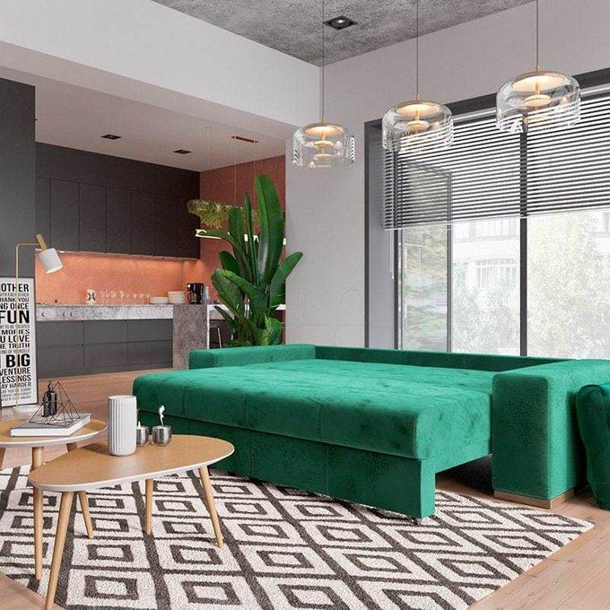 Диван-кровать Матиас серого цвета