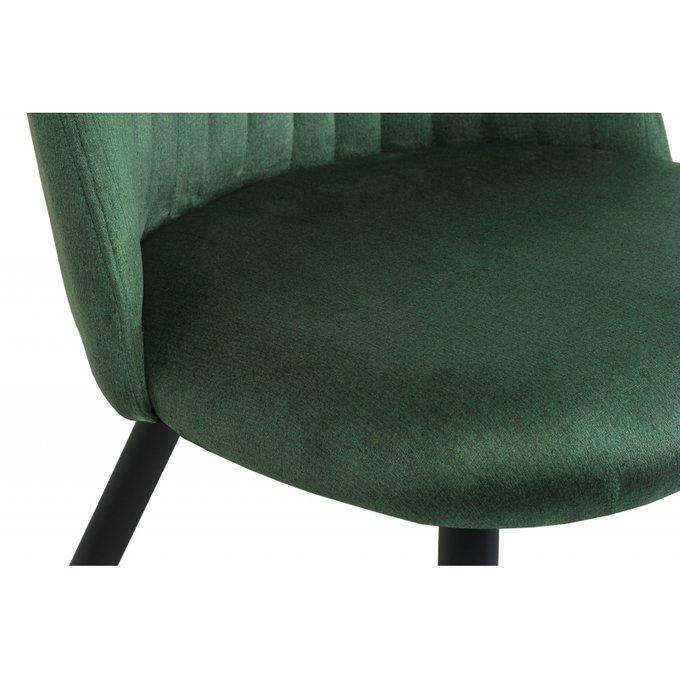 Обеденный стул Gabi темно-зеленого цвета