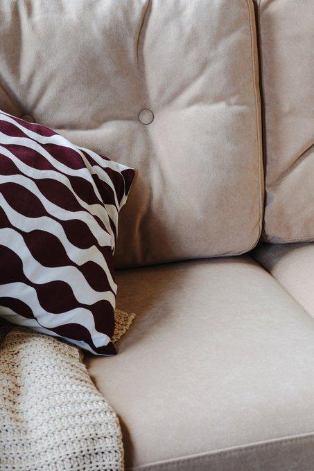 Прямой диван Rafael M светло-бежевого цвета