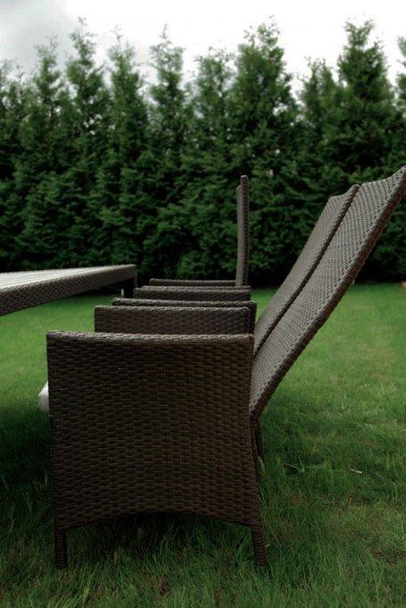 """Раскладное кресло """"LAVRAS"""" с регулируемой спинкой"""
