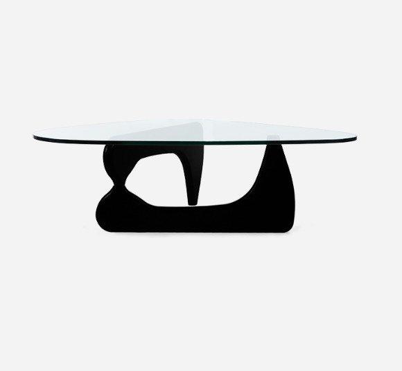 Журнальный стол Noguchi черного цвета