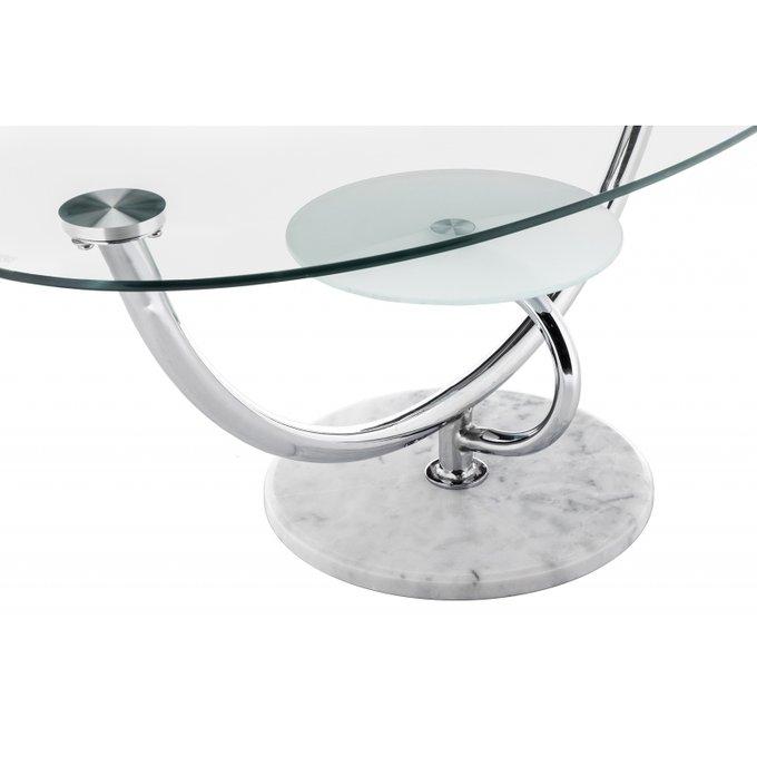 Журнальный стол Globe со стеклянной столешницей