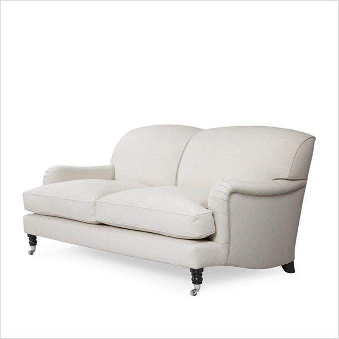 Диван Jasper 3 seat sofa на колесиках