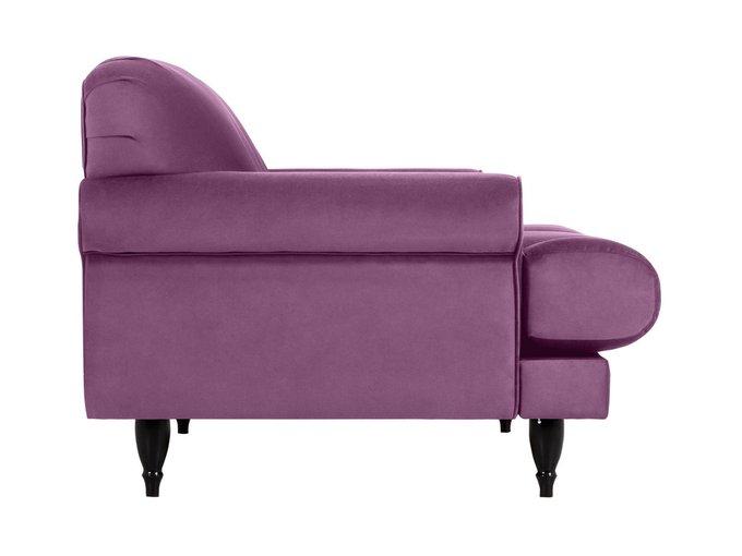Двухместный диван Italia сиреневого цвета