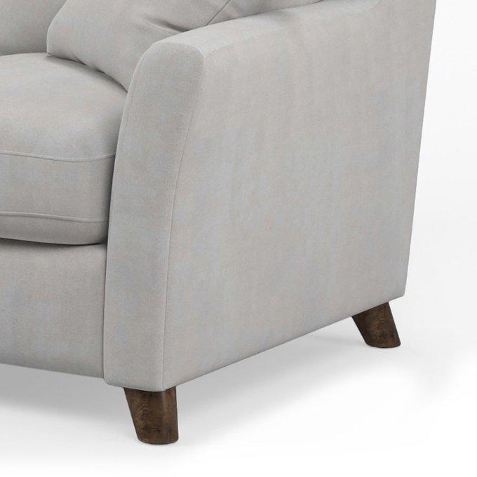 Диван-кровать Raf MT трехместный серого цвета