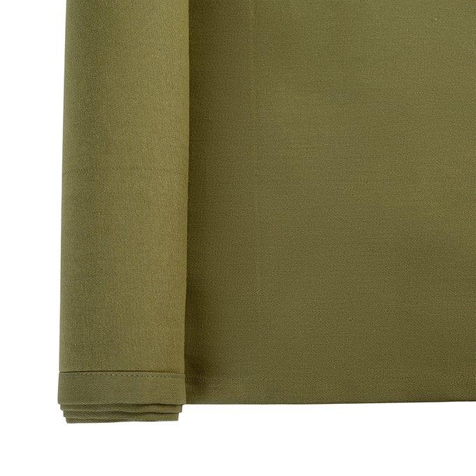 Дорожка на стол Wild оливкового цвета 45х150