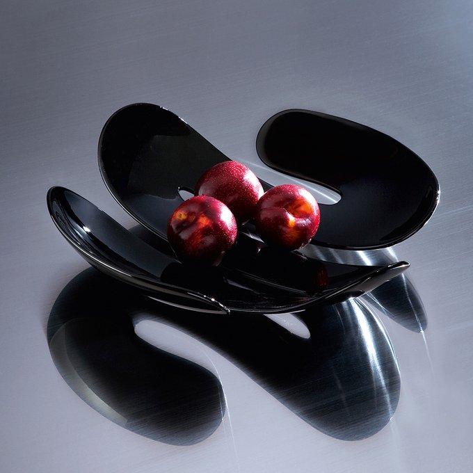 Блюдо для фруктов Eve чёрного цвета