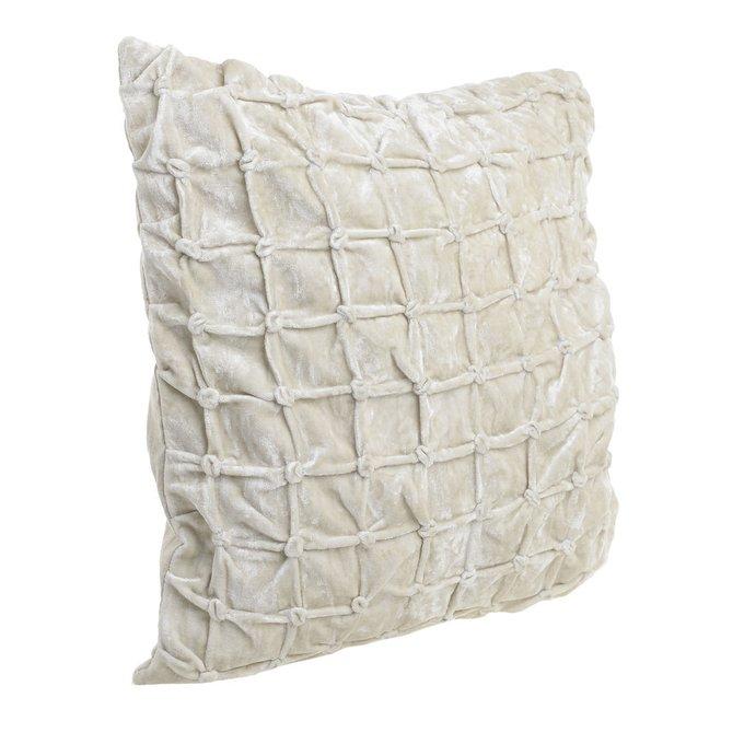 Подушка бежевого цвета