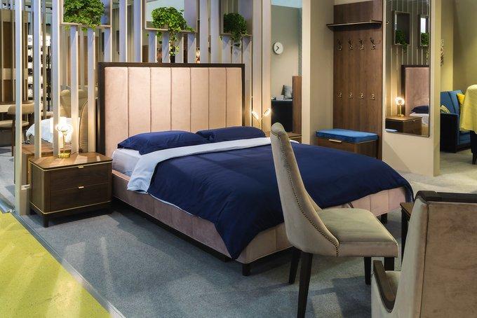 Кровать Модерн Лайт Нежное мерцание с подъемным механизмом и ящиком