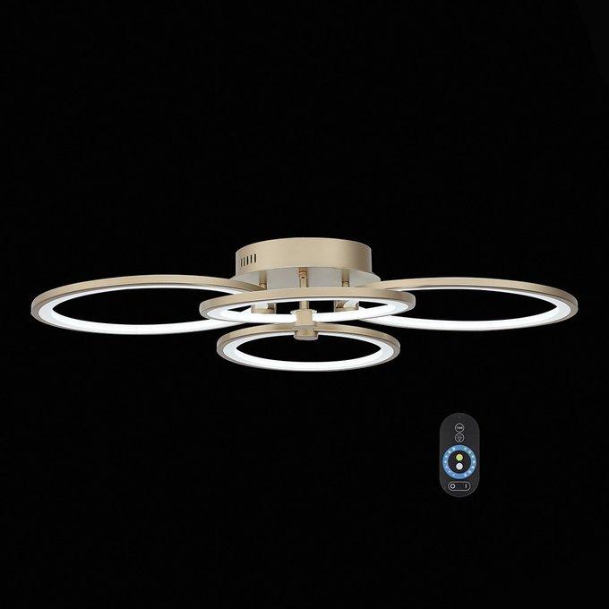Потолочная светодиодная люстра с пультом ДУ ST Luce Twiddle Dimmer