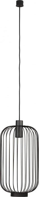 Подвесной светильник Cage черного цвета