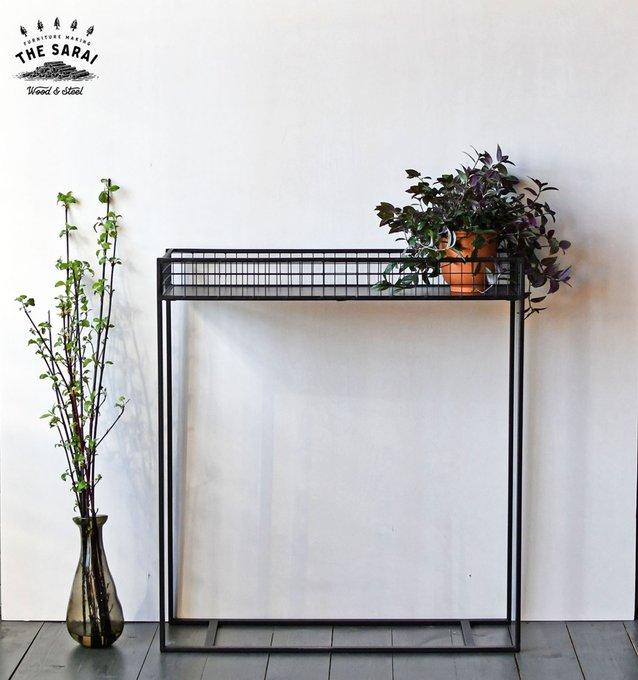 Консольный стол Robin черного цвета
