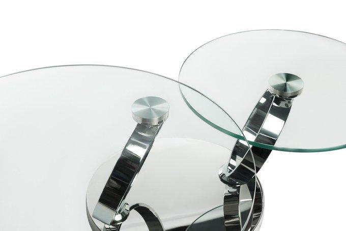Стол кофейный со стеклянной столешницей
