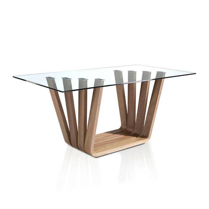 Обеденный стол Personal со стеклянной столешницей