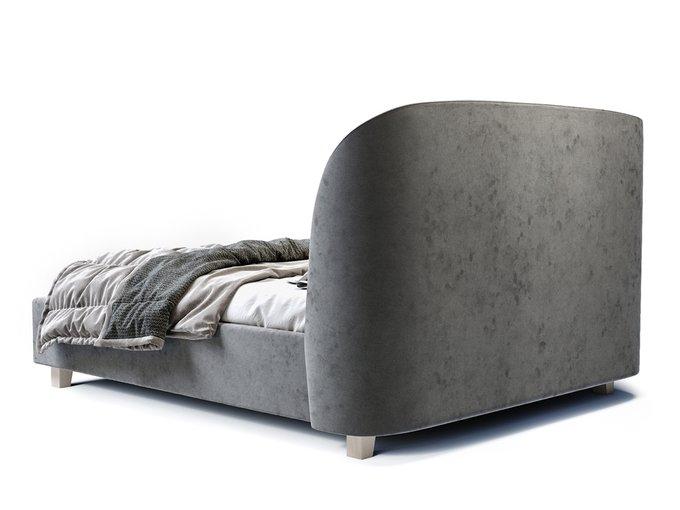 Кровать Tulip серого цвета 180х200
