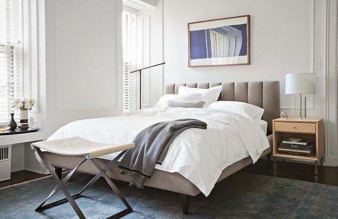 Кровать Клэр 180х200 бирюзового цвета