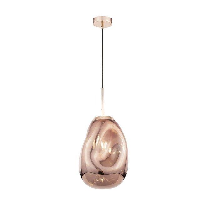 Подвесной светильник Mabell с плафоном медного цвета