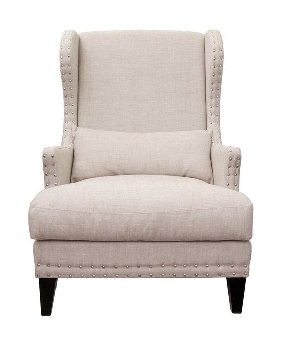 Кресло Agon beige бежевого цвета