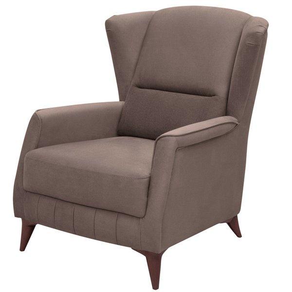Кресло Эшли коричневого цвета
