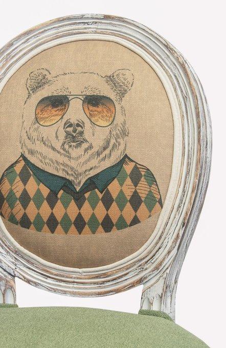 Стул Volker Green Bear с мягкой обивкой
