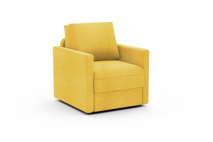 Кресло Винс желтого цвета