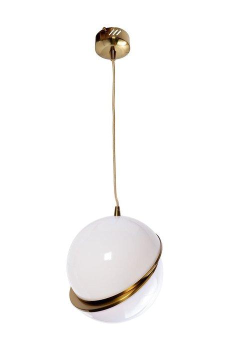 Лампа подвесная с белым плафоном