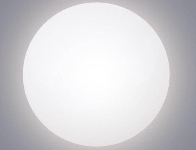 Потолочный светодиодный светильник Bianco белого цвета