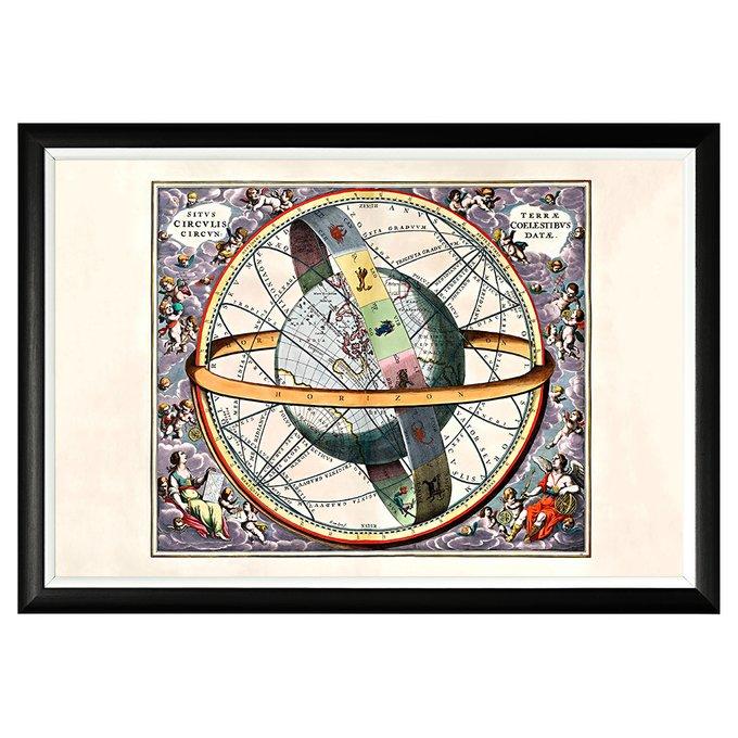 Картина Астрологические круги 1660