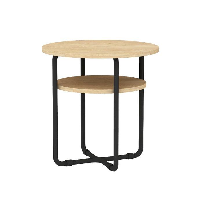 Журнальный стол Bauhaus с металлическим основанием