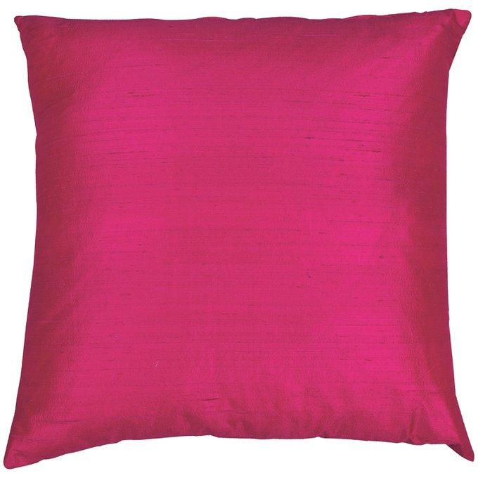 Декоративная подушка Dupion розового цвета