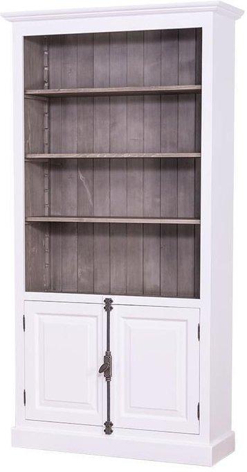Шкаф книжный Брюгге с дверцами