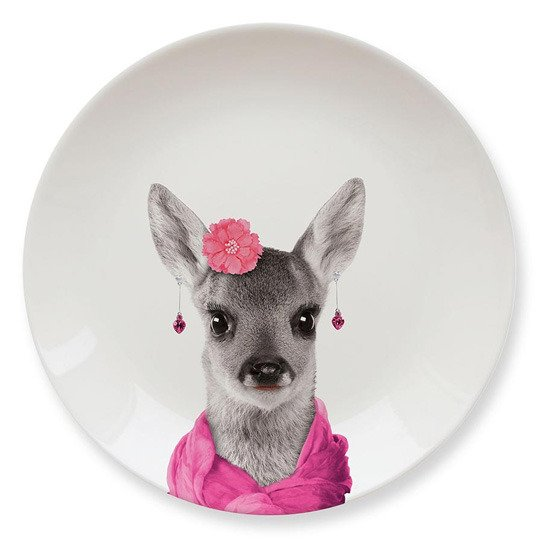 Тарелка 'Baby' (разные дизайны) / Deer