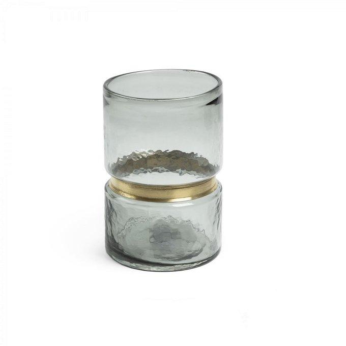 Ваза Jambala из серого стекла