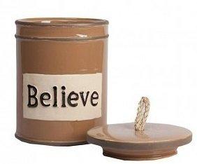 """Емкость для хранения """"Believe"""""""