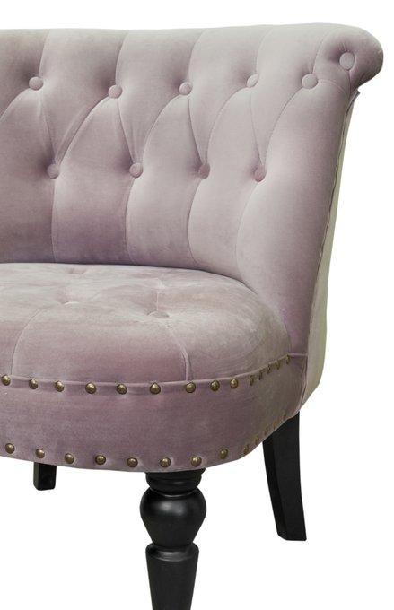 Низкое кресло Aviana pink velvet