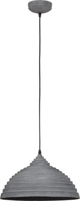 Подвесной светильник  Concrete серого цвета