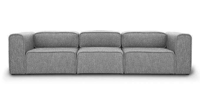 Модульный диван Метрополис  XL silver