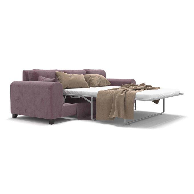 Диван-кровать Vittorio MT трехместный long светло-фиолетового цвета
